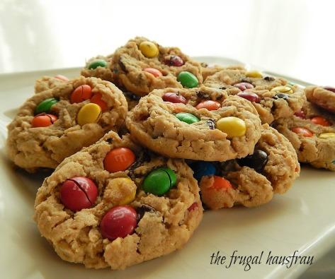 Soft batch Monster Cookies