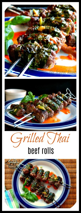 Succulent basil wrapped meatballs, grilled, and served with Sweet Chili Sauce