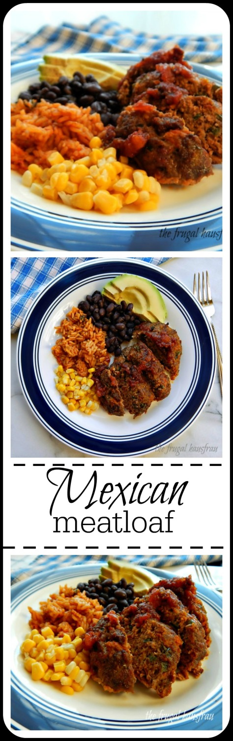 Individual Mexican Meatloaf: fast, easy & fun! Lots of flavor & perfect for family. https://frugalhausfrau.com/