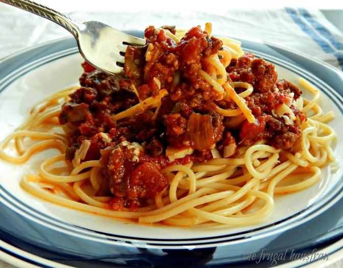 Dad's Spaghetti Sauce