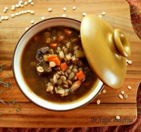 Beef & Barley Soup - in the Instant Pot