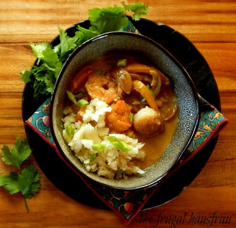 Easy Shrimp in Curry Sauce