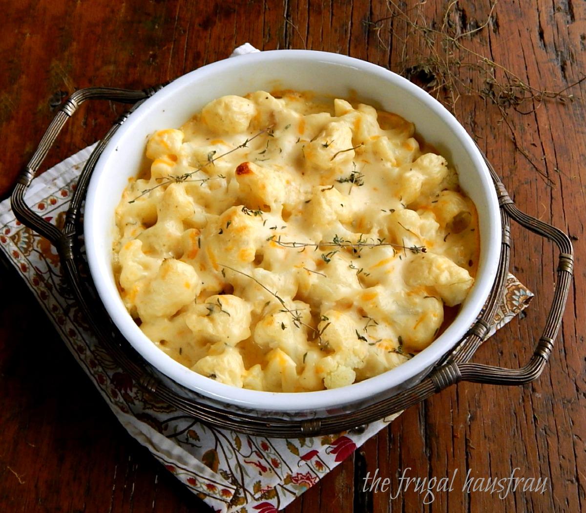 Cauliflower au Gratin | Frugal Hausfrau