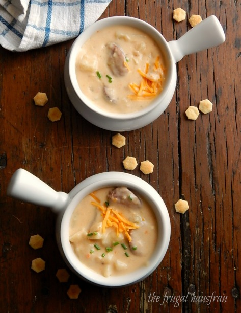 Instant Pot Cheesy Potato Sausage Soup