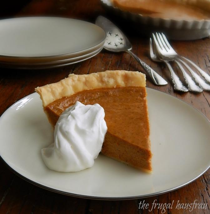 The Easiest Pumpkin Pie