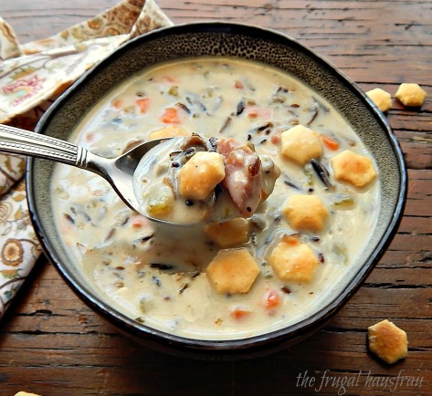 Instant Pot Wild Rice Soup