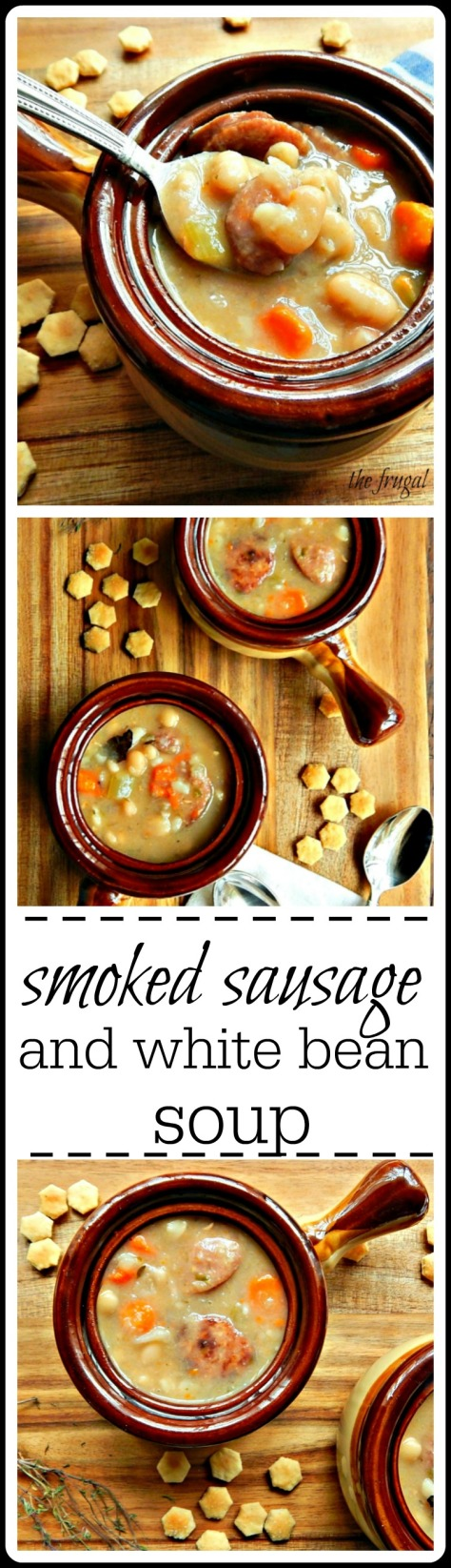 This down home & classic bean soup is fantastic stove-top or in the Instant Pot!