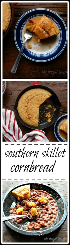 Real Deal Southern Cast Iron Cornbread