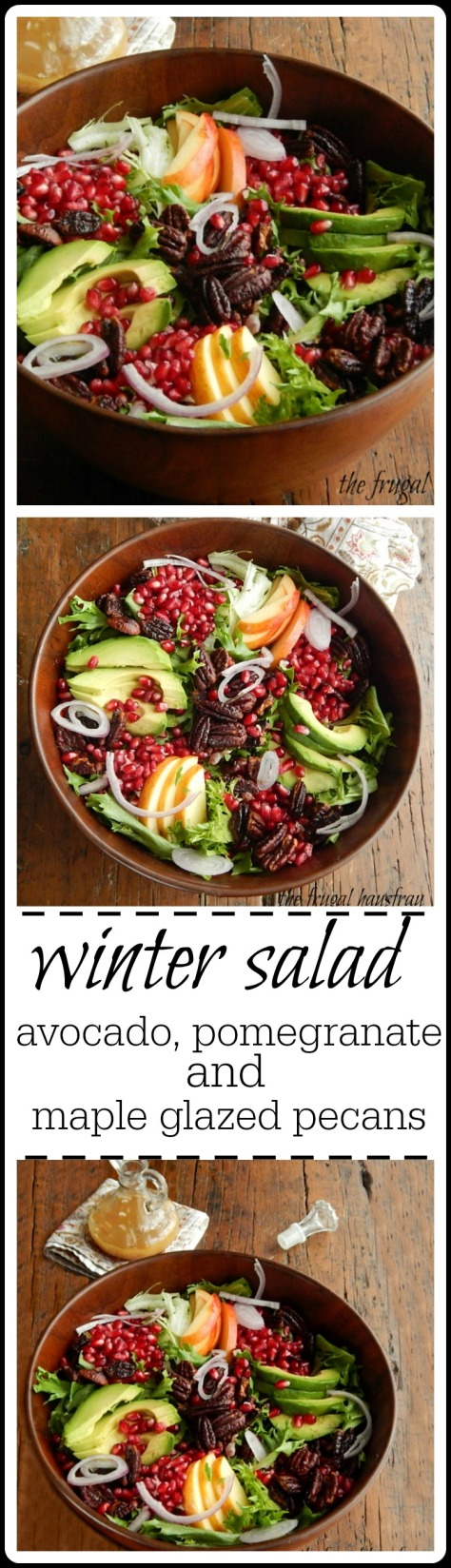 This Winter Salad is stuffed with everything good - but don't save it for a Holiday - it's just too good for that!