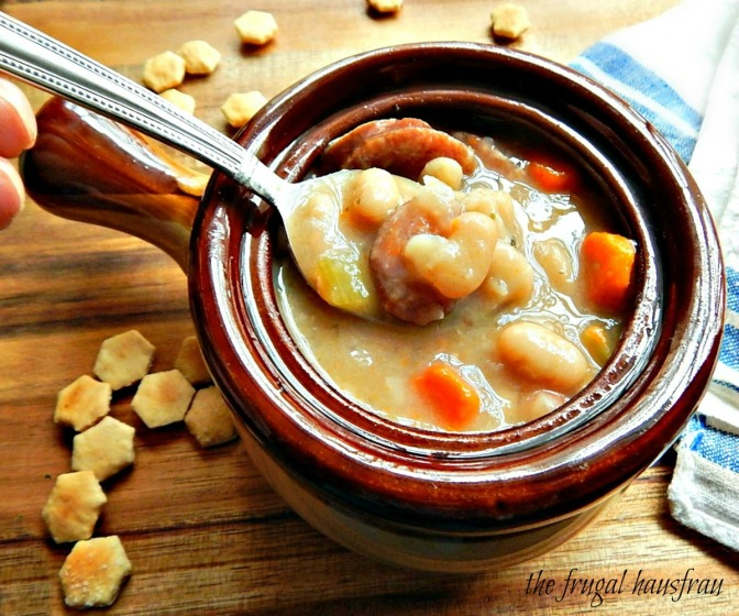Smoked Sausage & White Bean Soup – Instant Pot or Stove-top