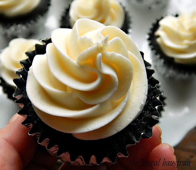 The Best Chocolate Cupcake with Vanilla American Buttercream