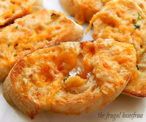 Cheesy Toasts