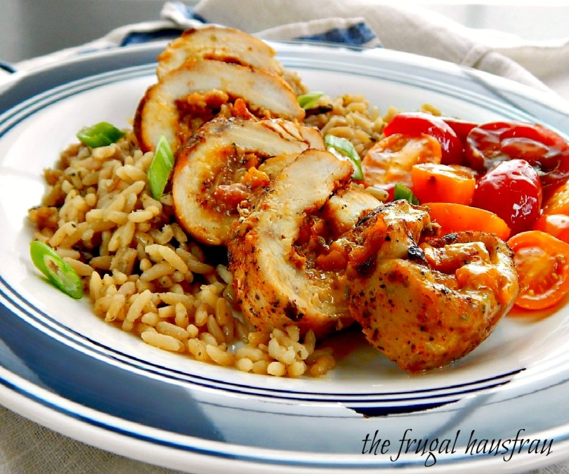 Stuffed Cajun Chicken Breasts