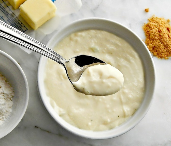 Home-made Cream of Chicken Soup Substitute for a can of Condensed Cream of Chicken