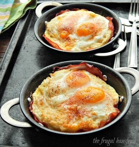 Featherbed Eggs | Frugal Hausfrau