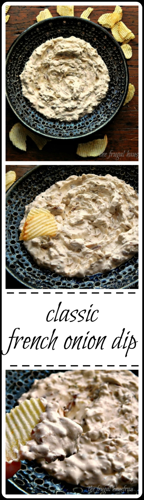 This is really BEST French Onion dip - so thick and creamy with real caramelized onions. You'll want to lick the bowl!