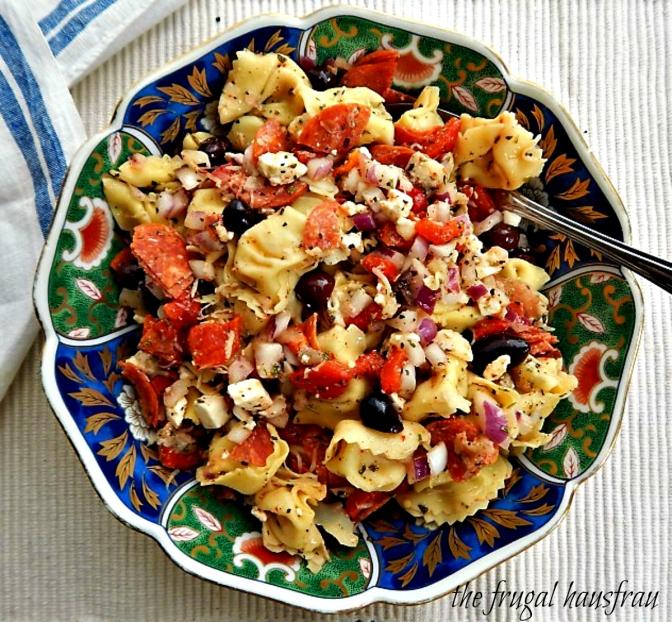Antipasto Tortellini Salad