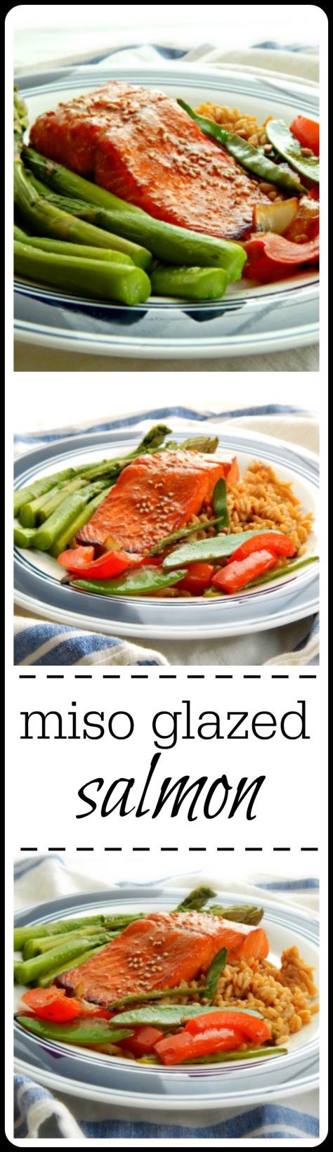 Miso Glazed Salmon | Frugal Hausfrau